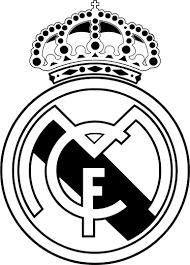 Free Real Madrid Logo Coloring Pages