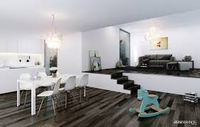 Modern Dining Room Sets Canada by Modern White Dining Room 10913