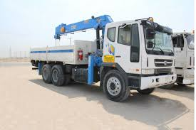 100 Boom Truck AlAjmi Partner General Trading And Contracting Company