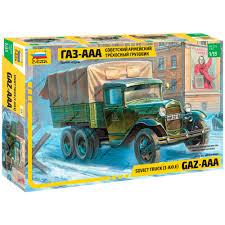 100 Aaa Truck ZVEZDA 3547 Model Kit Soviet 3 Axle GAZAAA 4600327035479