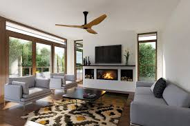 this australian living room features our haiku ceiling fan in