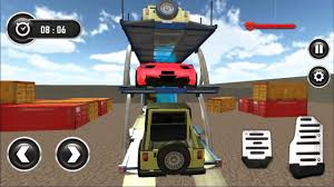 100 Towing Truck Games Car Transport Trailer Parking Game Android Gameplay