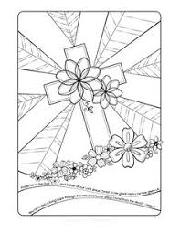 Free Easter Adult Coloring Page By Faith Skrdla Resurrection Cross 1 Peter Bible Verse Christian For Adults And Grown Up Kids