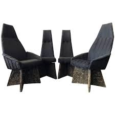 Adrian Pearsall High Back Brutalist Dining Chairs, Set Of ...