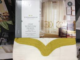 Gold And White Curtains Target by Window Fresh Target Curtains Threshold Design For Great Windows