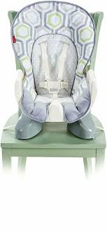 Fisher-Price SpaceSaver High Chair, Geo Meadow Fisherprice Playtime Bouncer Luv U Zoo Fisher Price Ez Clean High Chair Amazoncom Ez Circles Zoo Cradle Swing Walmart Images Zen Amazonca Baby Activity Flamingo Discontinued By Manufacturer View Mirror On Popscreen N Swings Jumperoo Replacement Pad For Deluxe Spacesaver Fpc44 Ele Toys Llc