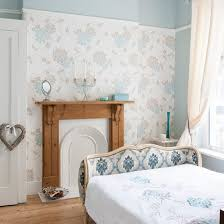 Duck Egg Bedroom Ideas Feminine Wallpaper