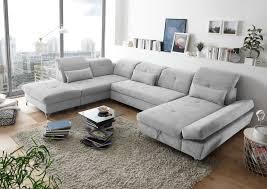 details zu melfi l sofa schlafcouch wohnlandschaft bettsofa schlaffunktion u form