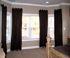 gorgeous kohl s bay window curtains on living room curtain ideas