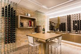 104 White House Wine Cellar Modern Villa With A Cozy Touch Contemporary Other By The By Christina Houzz