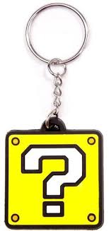 super mario question block keyring light merch online raru