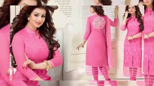 pakistani salwar suits chanderi cotton silk suits collection