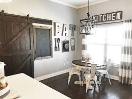 Farmhouse Dining Room Decor With A Gallery Wall