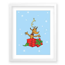 Whoville Christmas Tree by Amazon Com The Who Ville Christmas Tree Snow G2f Framed Dr