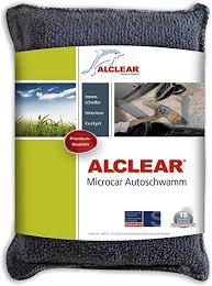alclear 950014 ultra microfaser autoschwamm microcar gegen beschlagene scheiben antibeschlag durchblick statt unfallgefahr anthrazit blau