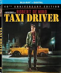 Taxi Driver Blu Ray Anniversary Edition Starring Diahnne Abbott Frank Adu And Victor Argo Paul Schraders Gritty Screenplay Depicts The Ever Deepening