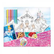 Princesas De Disney Libro Para Colorear