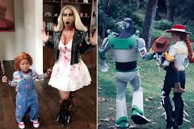 Halloween Costumes The Definitive History by Ready For Halloween U0027pregnant U0027 Kylie Jenner Creeps Fans Out With