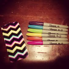 Decorating Fabric With Sharpies by Use Permanent Marker Or Colored Sharpies On A Plain Case And Make
