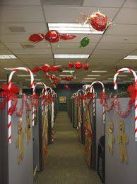 Cubicle Decoration Ideas For Christmas by Office Christmas Theme 2012 Office Christmas Decoration