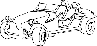 Car Coloring Pages 7