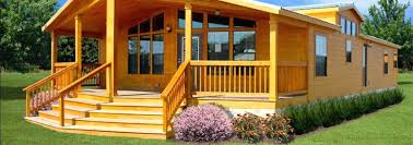 Cottage Style Manufactured Homes Small Modular Cottages W Log
