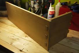 another example of wedged mortise and tenon in the construction of