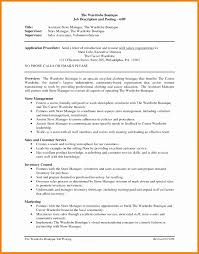 Assistant Store Manager Resume Inspirational Retail