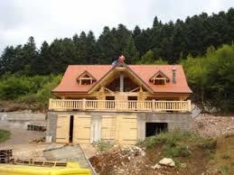 chalet en rondin en kit constructeur maison en rondins de bois construction