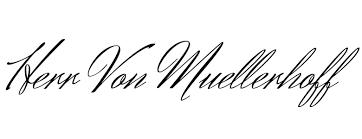 Her Von Muellerhoff Free Font Download