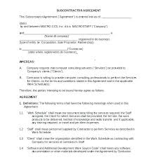 Standard Terms And Conditions Template