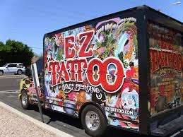 100 Truck Max Scottsdale Vehicle Advertising EZ Tattoo And Body Piercing Mural On Flickr