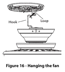 Hunter Ceiling Fan Hanging Bracket by Hunter Fans How To Install Your Ceiling Fan Cpo Hunter