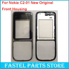 For Nokia c2 01 Mobile Phone New original Front Housing For C2 01 C2 cell phone Replacement face Cover case with track