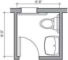 Half Bathroom Floor Plans