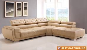 Living Room Furniture Sets Under 600 by 8097 Sectional Sofa Cappuccino Bonded Leather By American Eagle