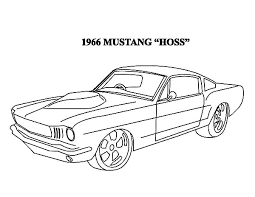 Downloads Online Coloring Page Mustang Pages 59 With Additional Line Drawings
