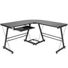 Walker Edison 3 Piece Contemporary Desk by Best U201cl U201d Shaped Desk For Gaming Computer Desk Guru