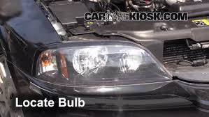 headlight change 2003 2006 lincoln ls 2004 lincoln ls 3 0l v6