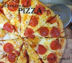 Homemade Pizza Dough Well Then