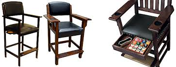 high quality spectator chairs at billiard factory complement any