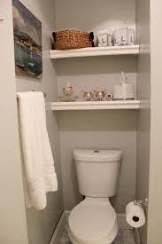 Bathroom Towel Bar With Shelf by Bathroom Ideas Floaing Bathroom Wall Shelves Above Toilet And