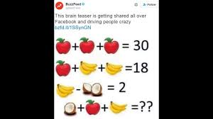 Halloween Brain Teasers by Brain Teaser With Pictures Of Fruit Confuses The Internet Wpxi