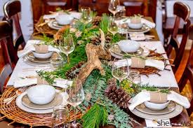 Formal Dining Table Rustic Christmas Decorations Decorating Cupcakes For Living Room Ideas 960x640