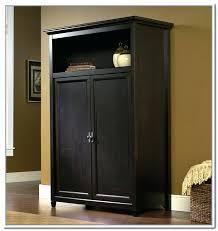 wardrobes sauder beginnings wardrobe storage cabinet in cinnamon