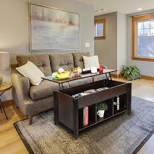 esstisch set lift top kaffee tisch möbel wohnzimmer tisch moderne möbel versteckte fach und lift tabletop