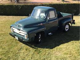1955 Ford F100 Hits All The Right Nostalgic Notes - Ford-Trucks.com 1955 Ford Pick Up Street Rod Youtube Panel Truck Hot Network Pickup Stock Photos Mikes Musclecars On Twitter F100 Pick Up For Sale 312ci Resto Mod F1201 Louisville 2016 Hits All The Right Nostalgic Notes Fordtruckscom Ford 27500 Pclick Custom W 460 Racing Engine 2107189 Hemmings Motor News