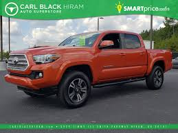 Pre-Owned 2017 Toyota Tacoma TRD Sport Crew Cab Pickup In Hiram ... 2016 Tacoma Trd Offroad Double Cab Long Bed King Shocks Camper 2007 Toyota Prerunner Abilene Tx Used Car Sales Premier Trucks Vehicles For Sale Near Lumberton Mason City Powell Wy Jacksonville Fl New Models 2019 20 Top Of The Line Crew Pickup For Baldwinsville 2017 Latham Ny 5tfsz5an2hx089501 2018 Sr5 One Owner No Accidents In Tuscaloosa Al 108 Cars From 3900
