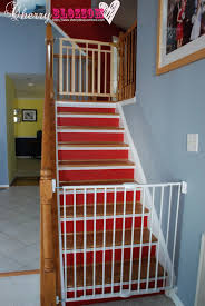 Baby Proofing Our Home – Cherry Blossom Love Infant Safety Gates For Stairs With Rod Iron Railings Child Safe Plexiglass Banister Shield Baby Homes Kidproofing The Banister From Incomplete Guide To Living Gate For With Diy Best Products Proofing Montgomery Gallery In Houston Tx Precious And Wall Proof Ideas Collection Of Solutions Cheap Way A Stairway Plexi Glass Long Island Ny Youtube Safety Stair Railings Fabric Weaved Through Spindles Children Och Balustrades Weland Ab