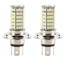 2 pcs h4 dc12v 120led smd high low beam led fog light headlight